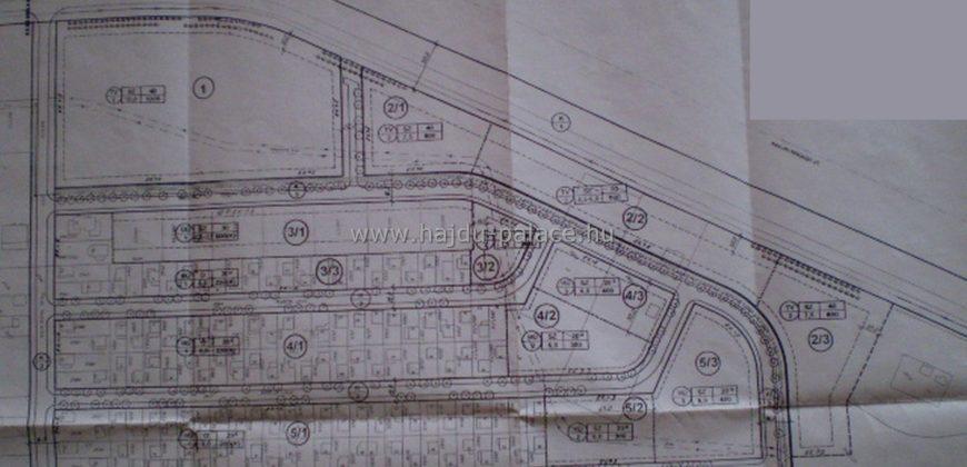 Wellness szálloda, építésére megfelelő 23775 m2/ vagy bővítetten 46894 m2 telek eladó Hajdúszoboszlón