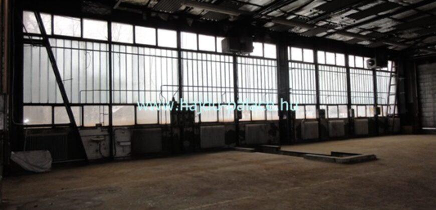 Ipari üzemcsarnok, raktárcsarnok kiadó Hajdúszoboszlón