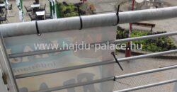 Hajdúszoboszlón, a gyógyfürdő szomszédságában tágas panorámás 70 m-es lakás eladó
